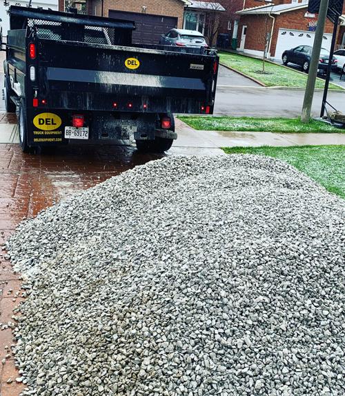 Gravel Delivery Toronto, Vaughan & GTA