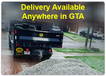Gravel Delivery Toronto, Vaughan & GTA